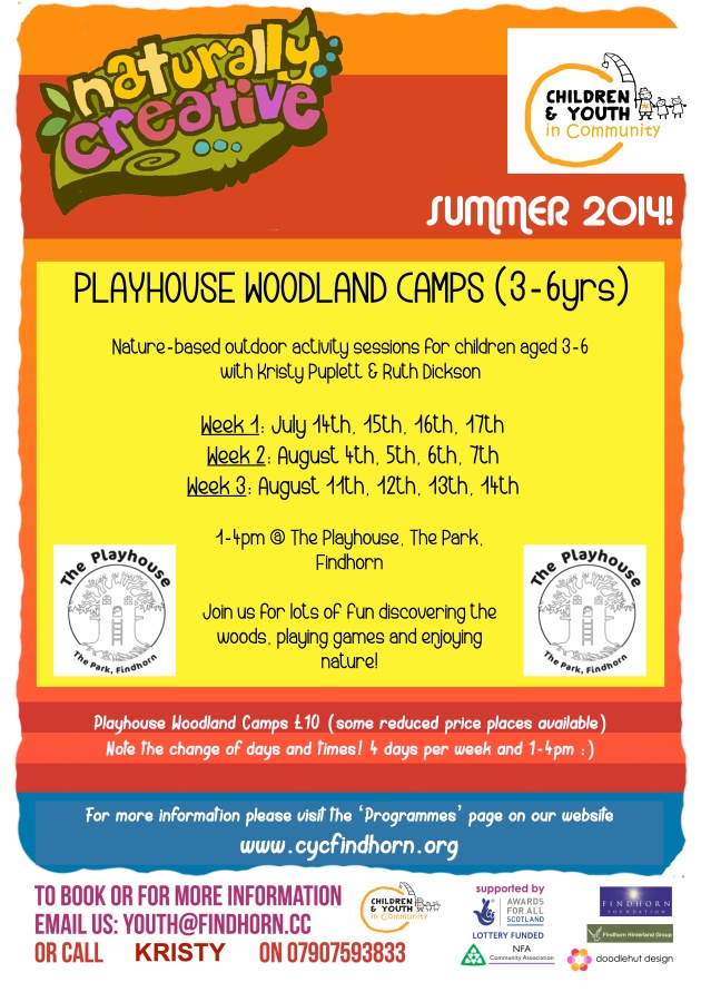 CYC Playhouse Summer 2014 Poster